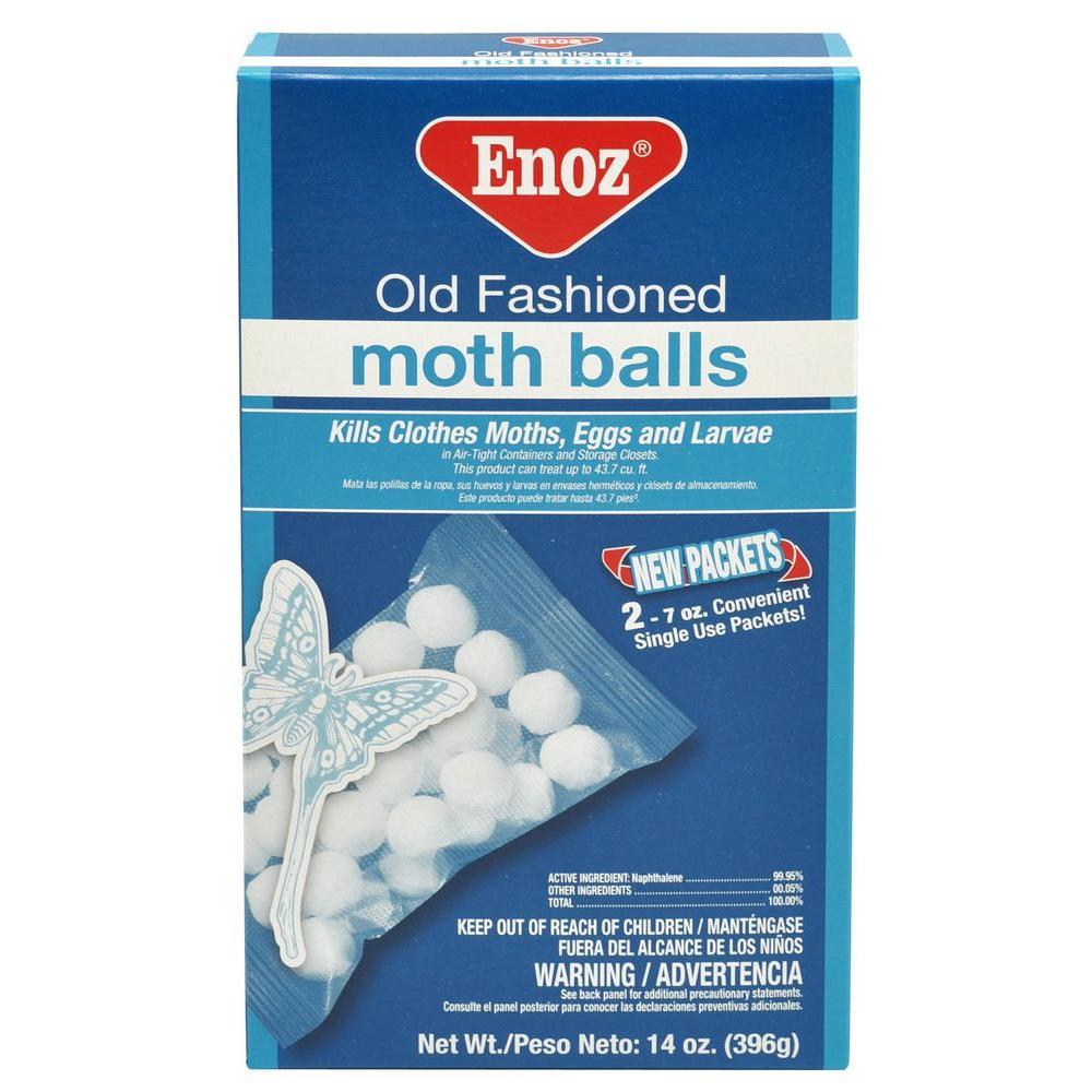 14 oz. Naphthalene Old Fashioned Moth Balls (12-Case)