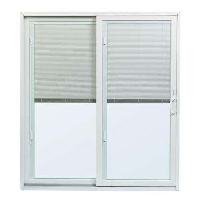 round with glass wood blinds door patio table doors sliding pella