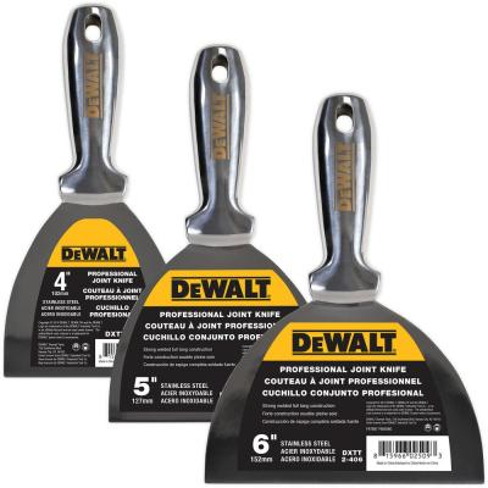 """DEWALT Drywall Skimming Blade 14/"""" Finishing Tool Stainless Steel Paint Scraper"""