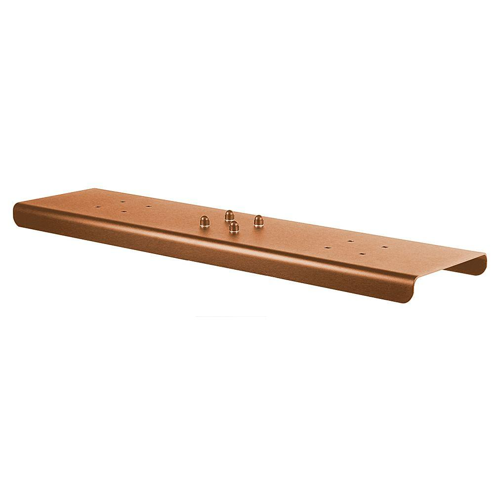 2-Wide Spreader for Salsbury Designer Roadside Mailboxes in Copper