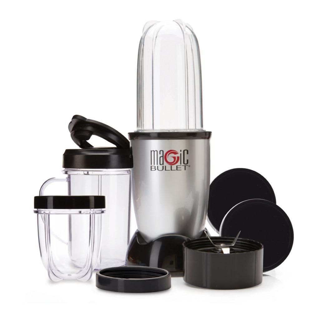 18 oz. Single Speed Silver Jar Blender and Mixer