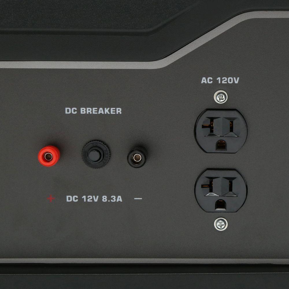 3,250/2,500-Watt Gasoline Powered Recoil Start Portable Generator with 208 cc Ducar Engine