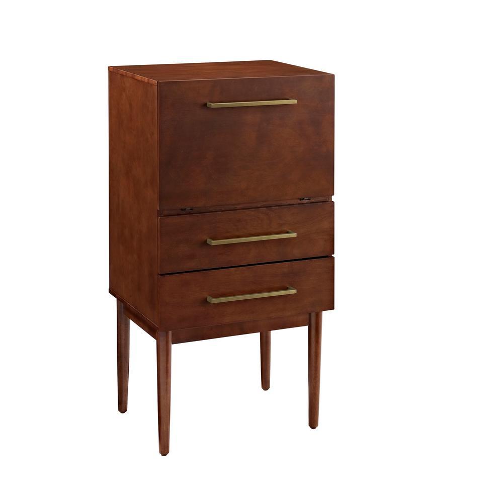 Everett Mahogany Spirit Cabinet