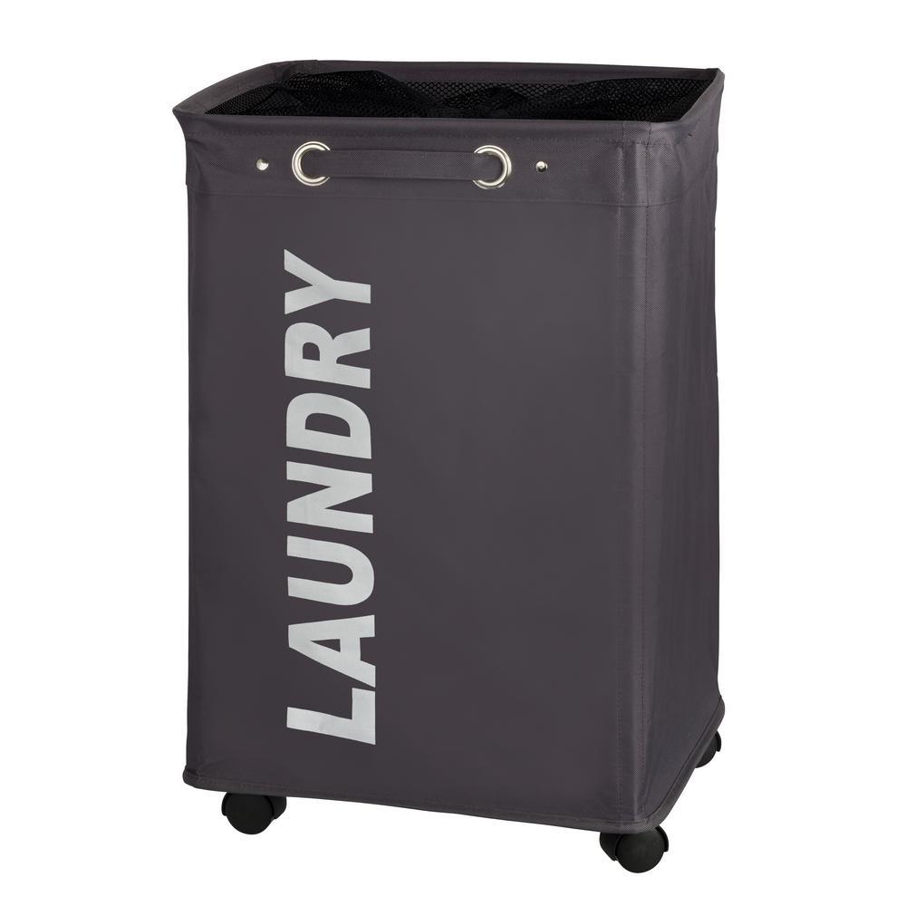 Quadro Gray Laundry Bin