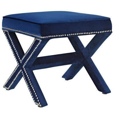 Rivet Navy Bench