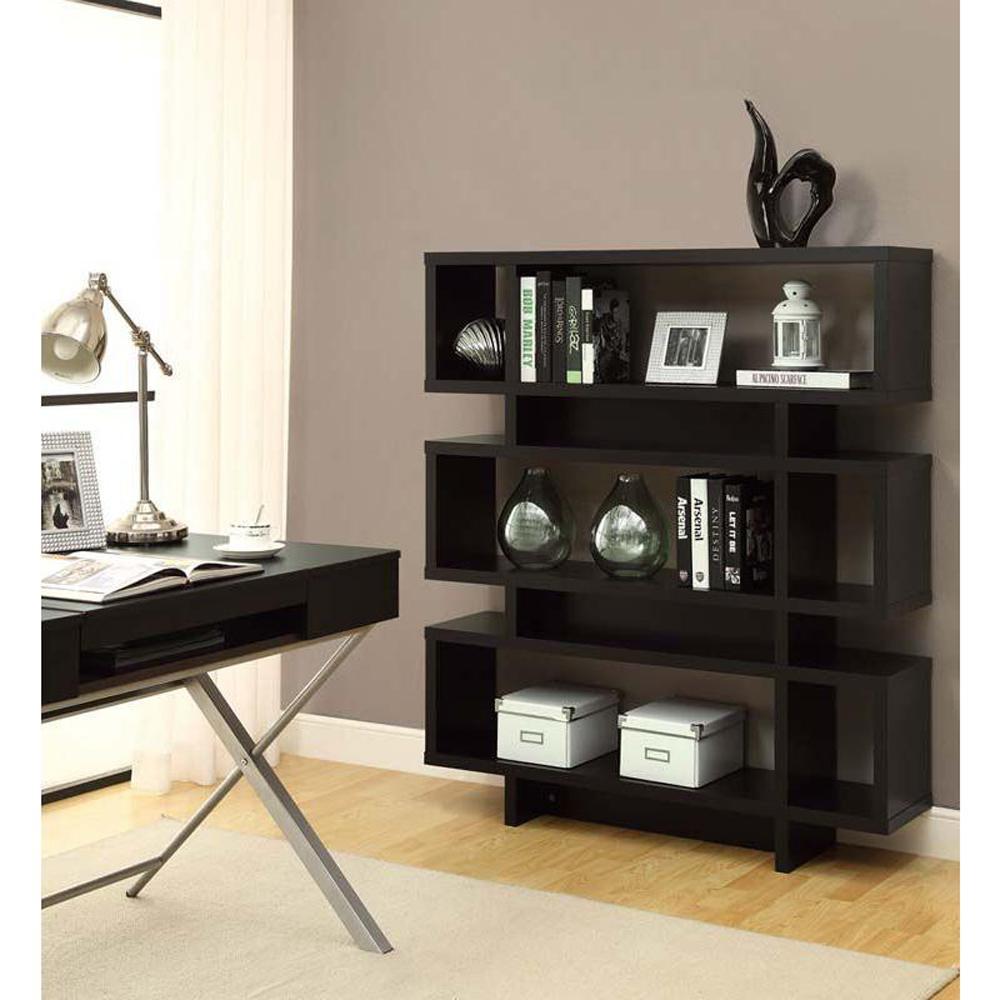 Cappuccino Open Bookcase