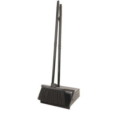 Duo-Pan Lobby Dust Pan and Duo-Sweep Broom