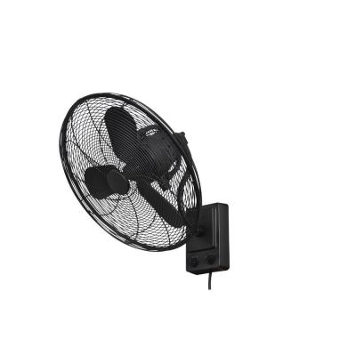 Bentley III 22 in. Indoor/Outdoor Natural Iron Oscillating Wall Fan