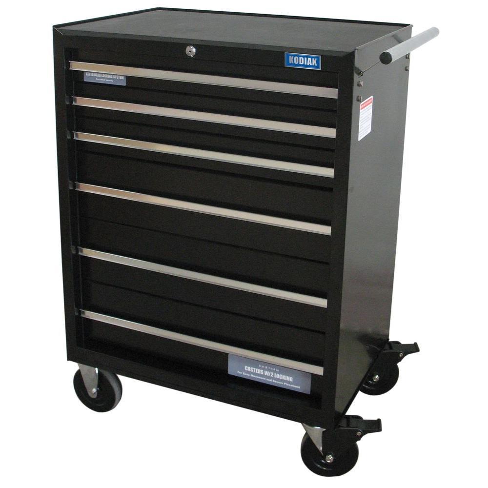 Kodiak Pro 26 In. 6 Drawer Rolling Tool Cabinet