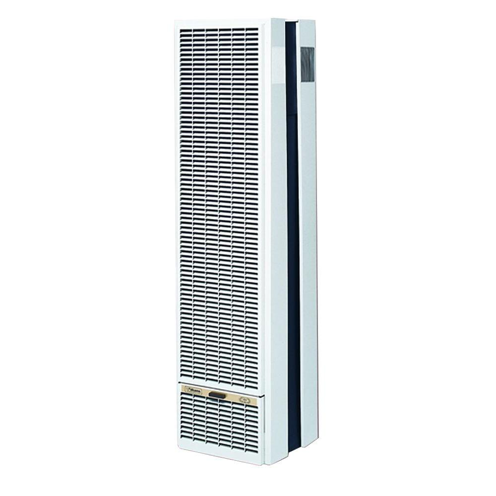 50,000 BTU/Hr Top-Vent Gravity Wall Furnace LP Gas Heater with Wall