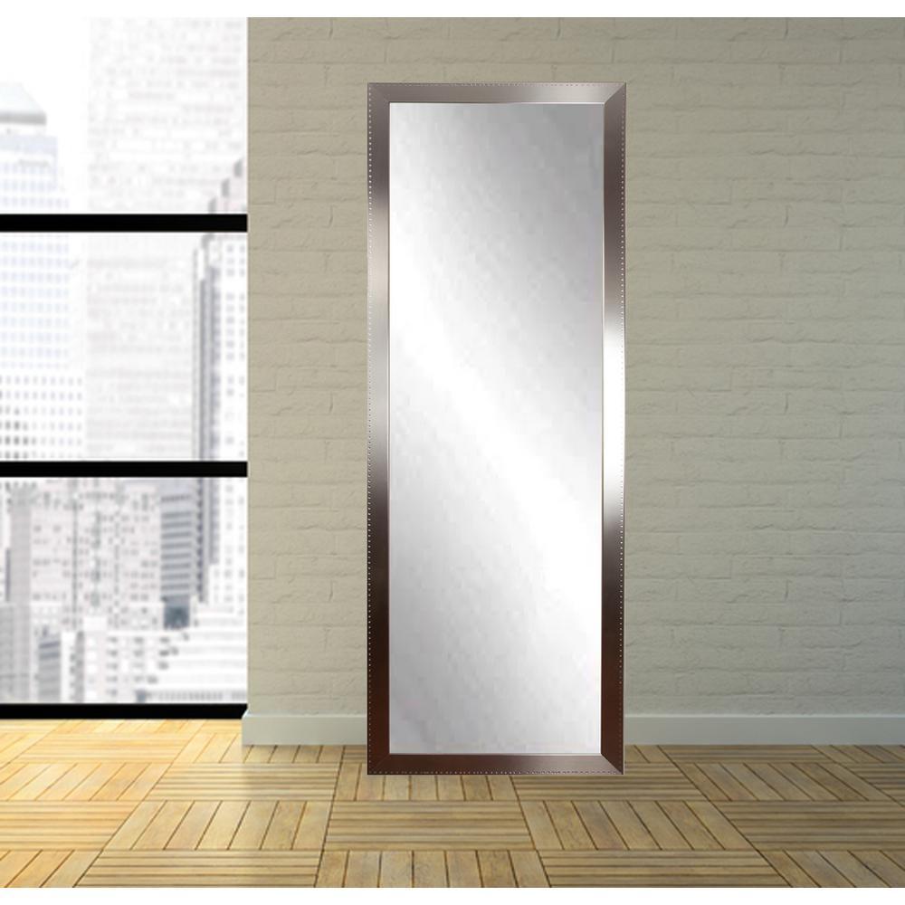 Brandtworks Embossed Steel Full Length Wall Mirror