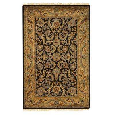 Chantilly Black 12 ft. x 15 ft. Area Rug