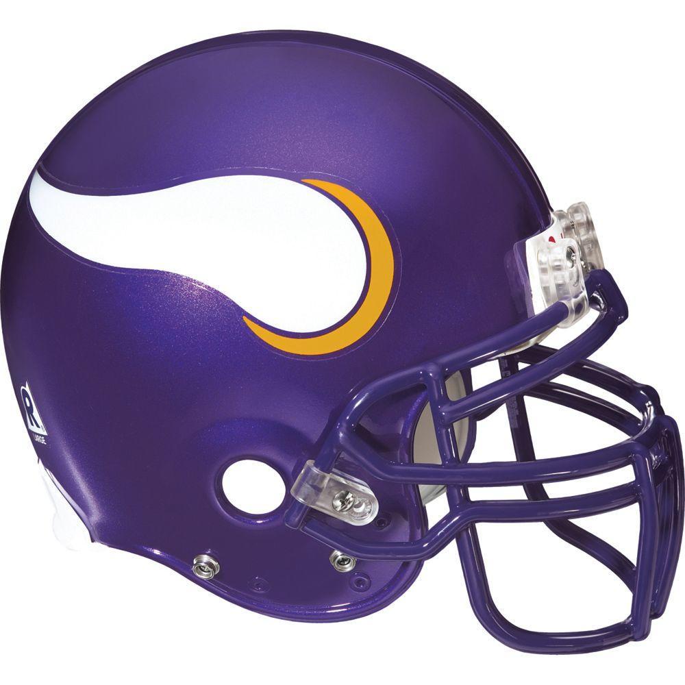 Fathead 57 in. x 51 in. Minnesota Vikings Helmet Wall Decal