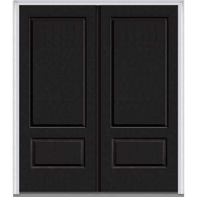 black front door with sidelightsBlack  Front Doors  Exterior Doors  The Home Depot