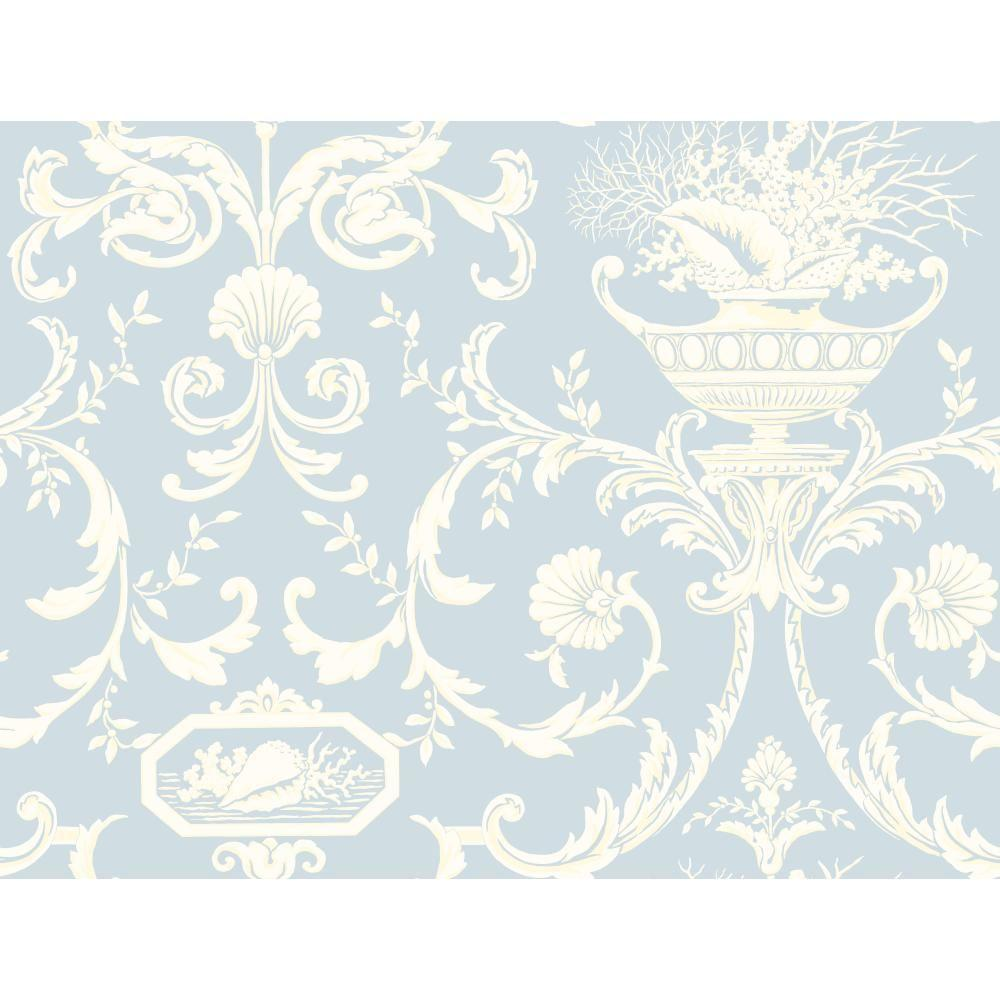 Casabella II Neoclassic Shells Wallpaper