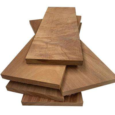 1 in. x 8 in. x 2 ft. African Mahogany S4S Board (5-Pack)