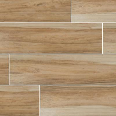 9 in. x 38 in. Ansley Cafe Matte Ceramic Floor and Wall Tile (36 cases/513 sq. ft./pallet)