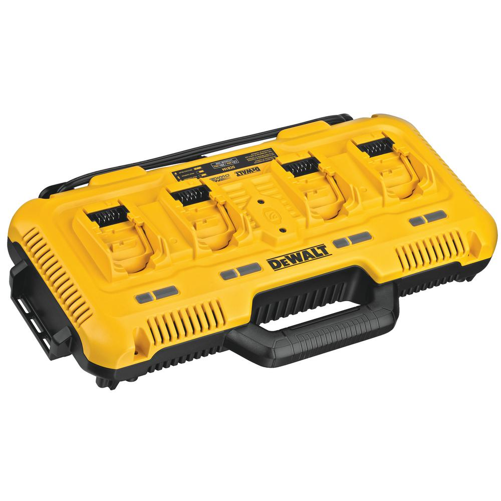 DEWALT -  12-Volt/20-Volt/60-Volt MAX 4-Port Lithium-Ion Battery Charger