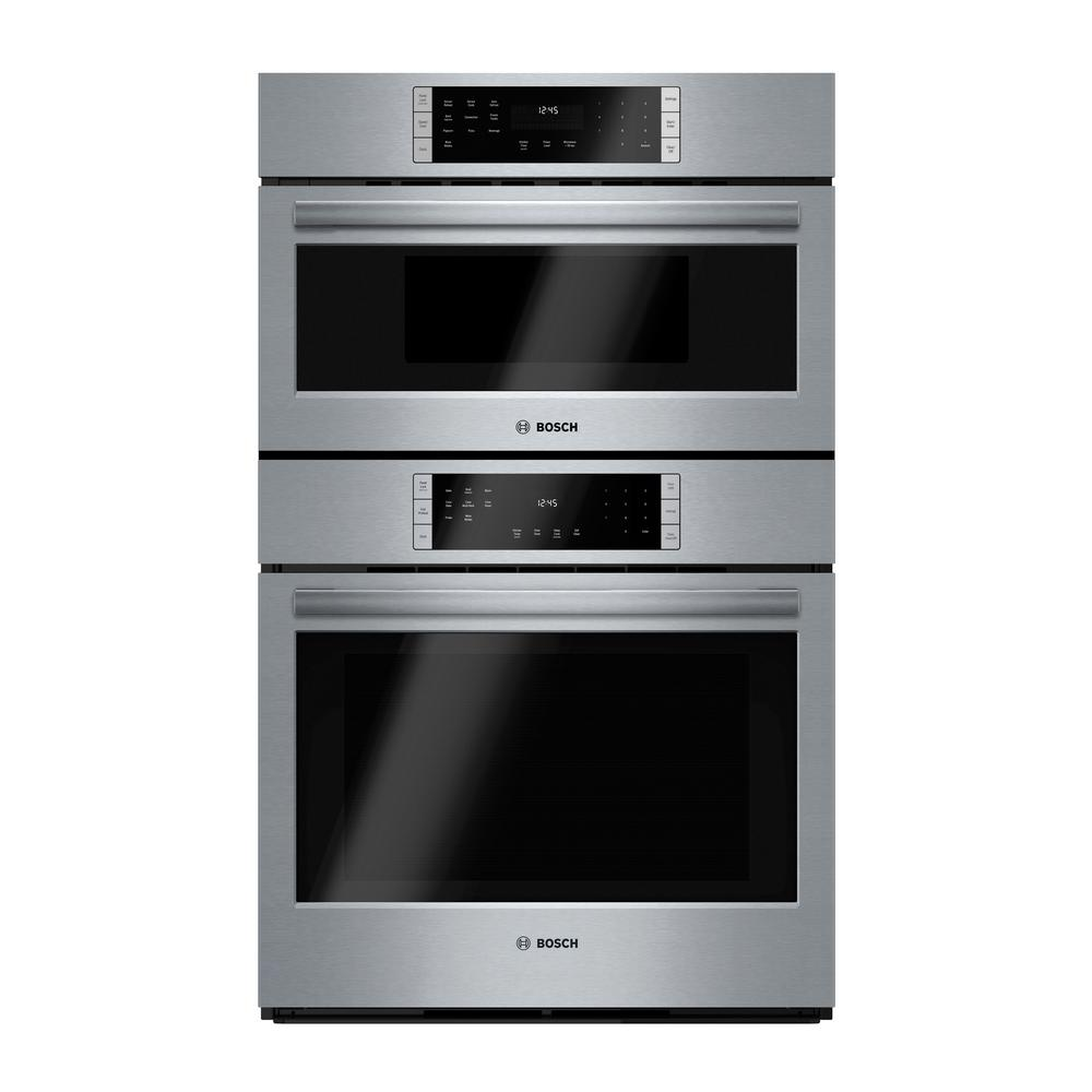 800 Series 30 in. Combo Electric Wall Oven with European Convection