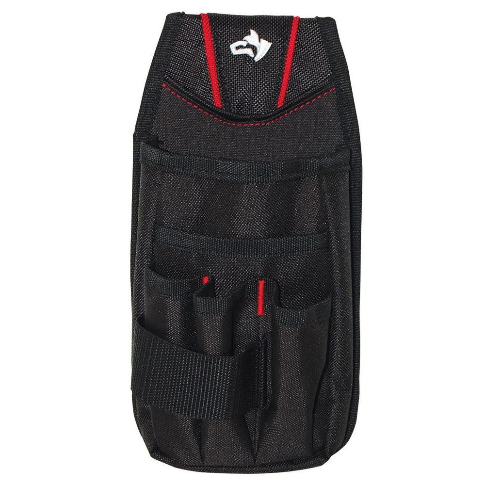 254136ec7f59 Husky 7-Pocket Black Utility Tool Pouch