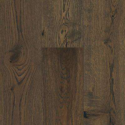 Take Home Sample - Weathered Oak Waterproof Engineered Hardwood Flooring - 5 in. x 7 in.