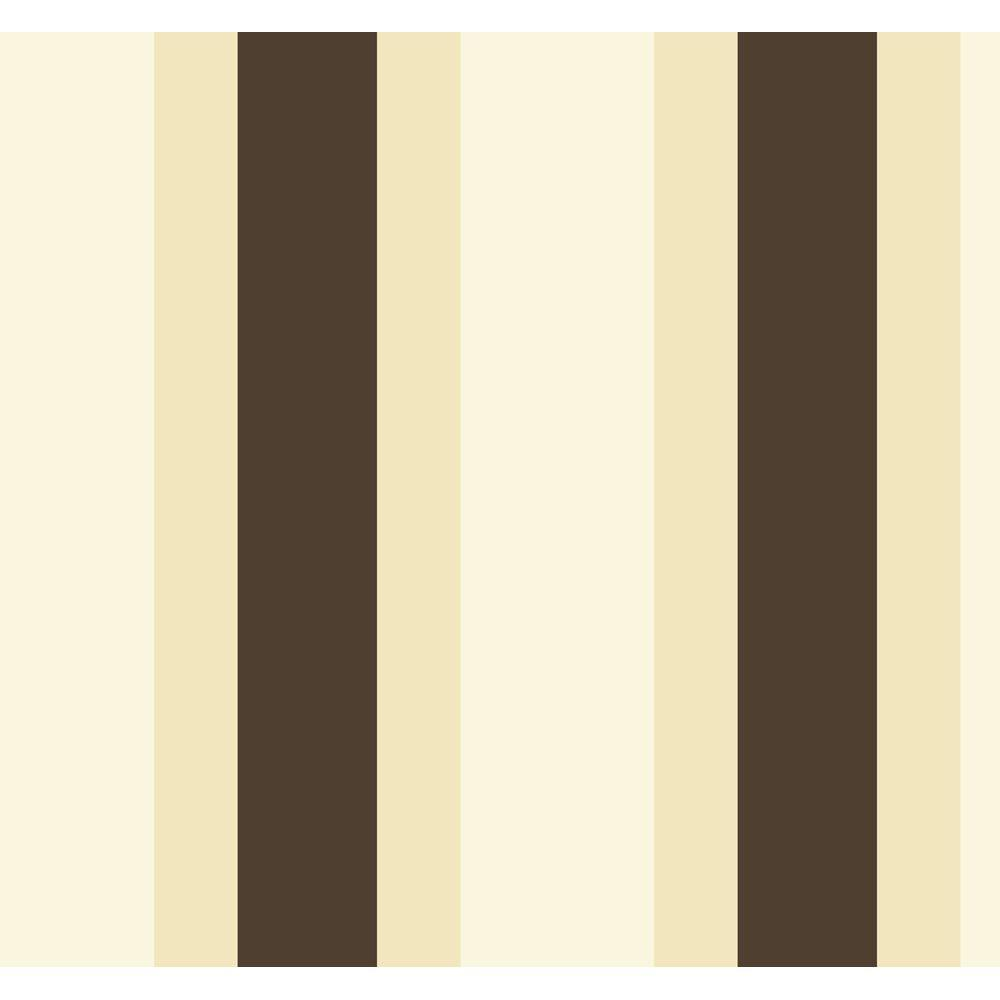 York Wallcoverings 60.75 sq. ft. Triple Treat Stripe Wallpaper