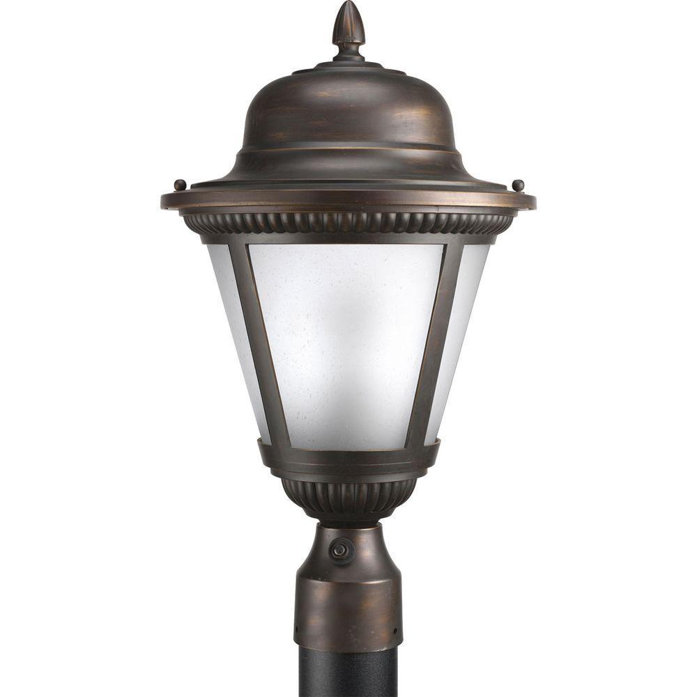 Progress Lighting Westport Collection 1-Light Antique Bronze Fluorescent Outdoor... by Progress Lighting