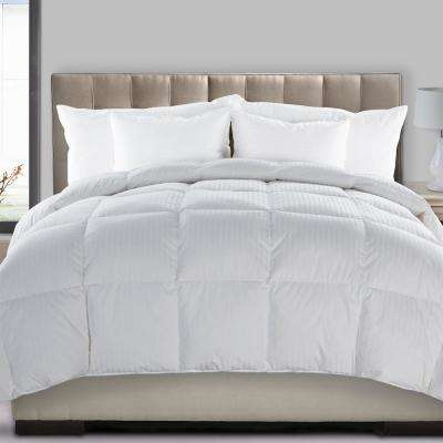 Ultra Down Medium Warmth White Full/Queen Down Comforter