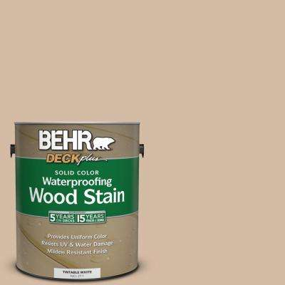 1 gal. #290E-3 Classic Taupe Solid Color Waterproofing Wood Stain
