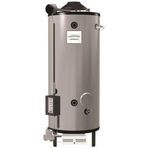 Rheem 100 Gal. Tall 199,900 BTU Natural Gas Water Heater, Side T and P Relief... by Rheem