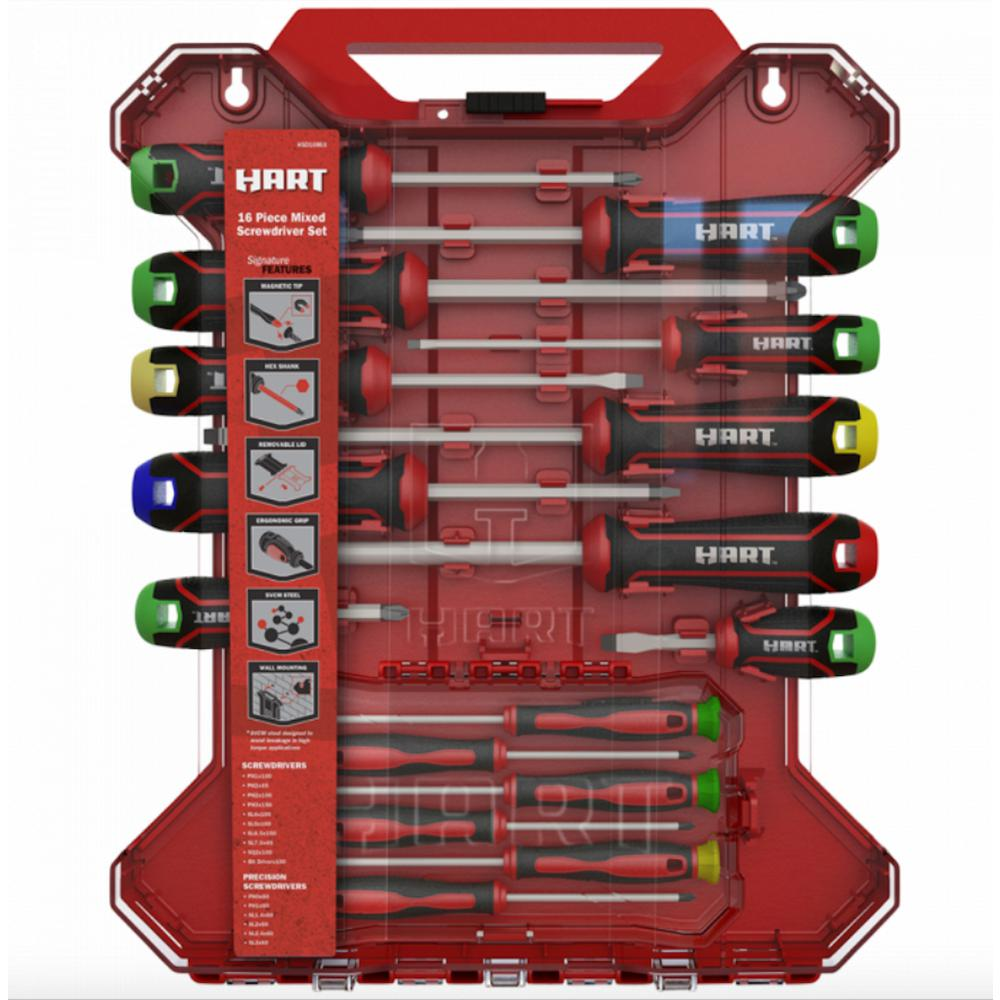 Mixed Screwdriver Set (16-Piece)