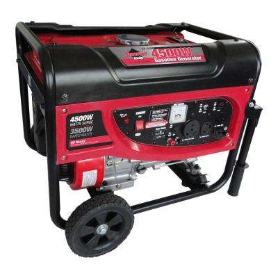 3500-Watt GP4500 120-Volt Gasoline Powered Portable Generator