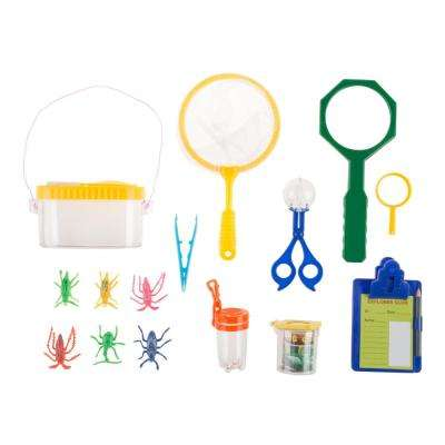 Kids Bug and Insect Kit 17-Piece Fun Backyard and Outdoor Exploration Set
