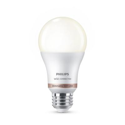 Soft White A19 LED 60W Equivalent Dimmable Smart Wi-Fi Wiz Connected Wireless Light Bulb