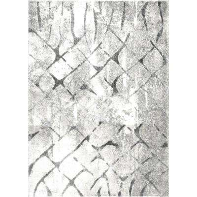 Roma Gray 3 ft. x 4 ft. Indoor Area Rug