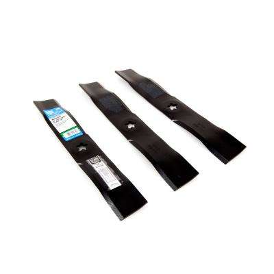 48 in. Mulching Blade Set for Craftsman Riding Mowers