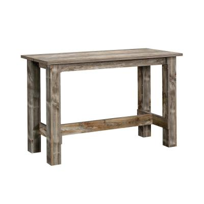 Boone Mountain 35 in. Rustic Cedar Counter Height Dining Table