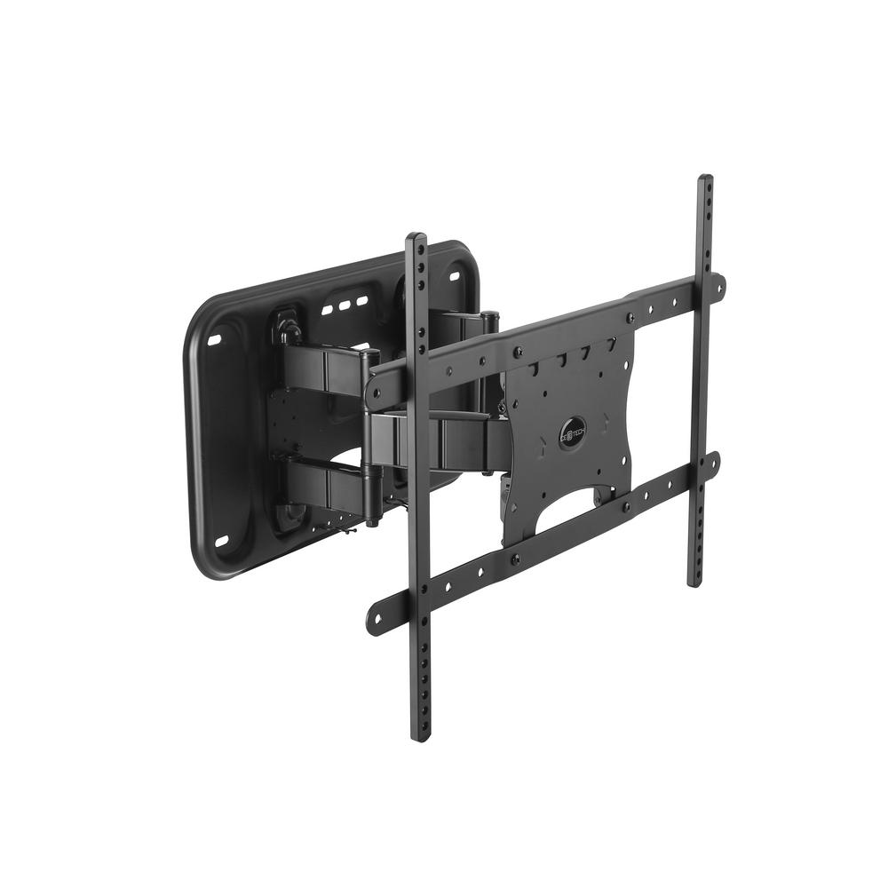 commercial electric full motion wall mount for 26 in 90 in flat panel tvs 31903 the home depot. Black Bedroom Furniture Sets. Home Design Ideas