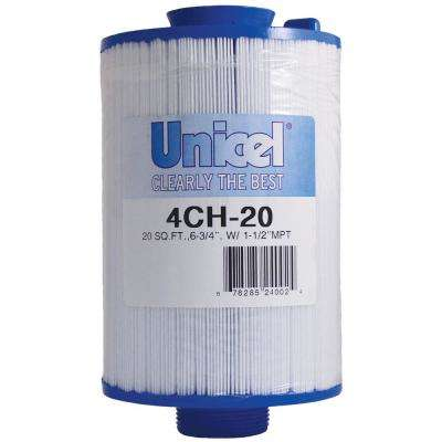CH Series 4-5/8 in. Dia x 6-3/4 in. 20 sq. ft. Replacement Filter Cartridge with Molded Cone Top Handle