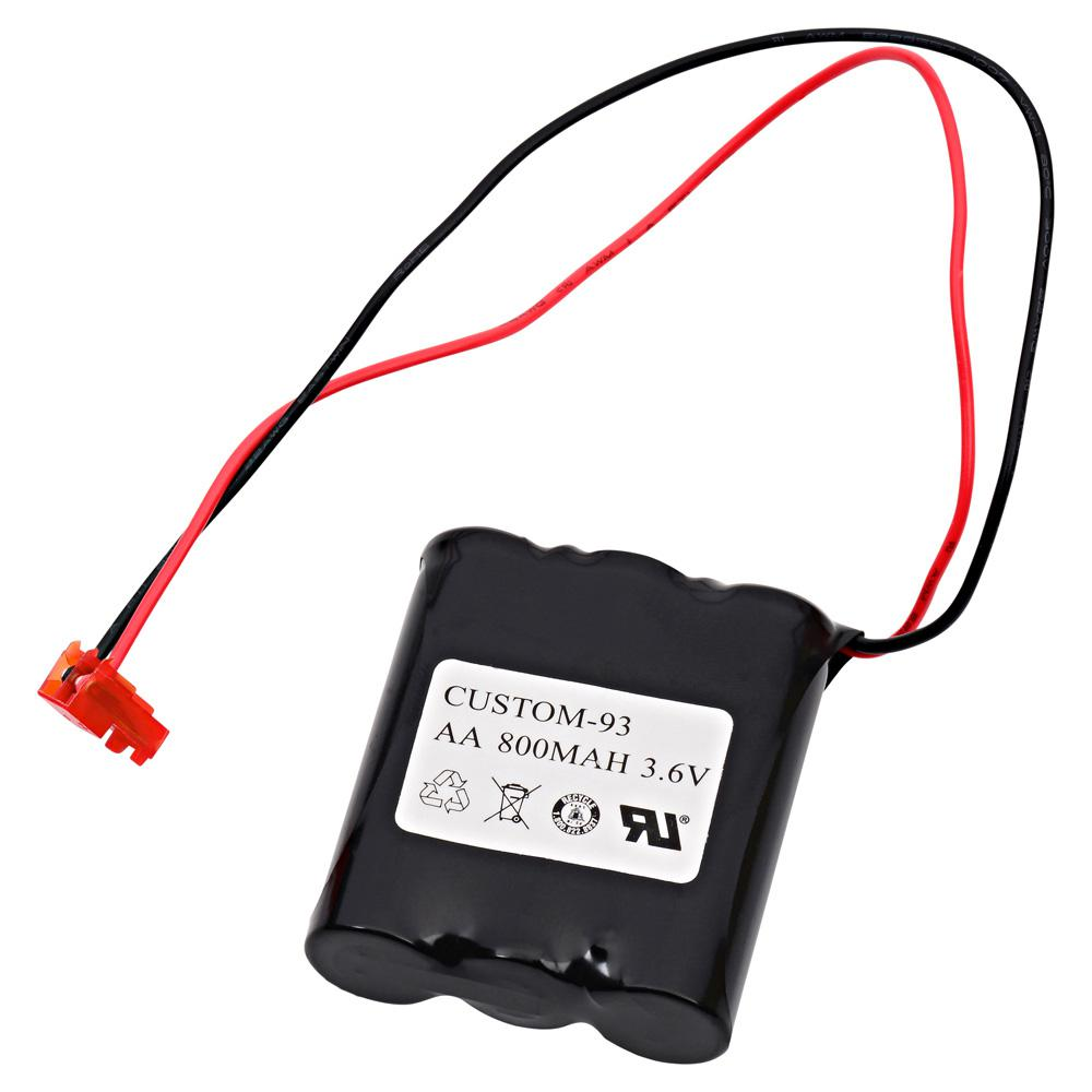 Dantona 3.6-Volt 800 mAh Ni-Cd battery for NaviLite - NNYXSB Emergency