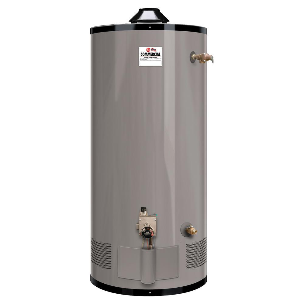 Medium Duty 100 gal. 76K BTU Low NOx (LN) Commercial Natural Gas Tank Water Heater