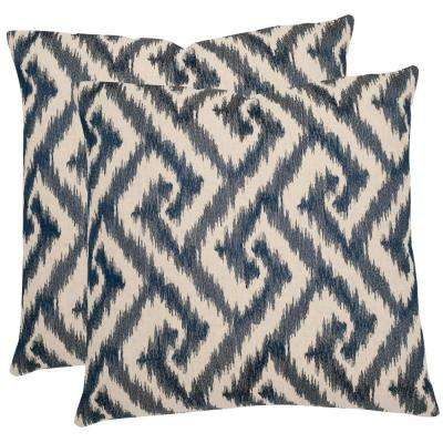Teddy Geometric Pillow (Set of 2)