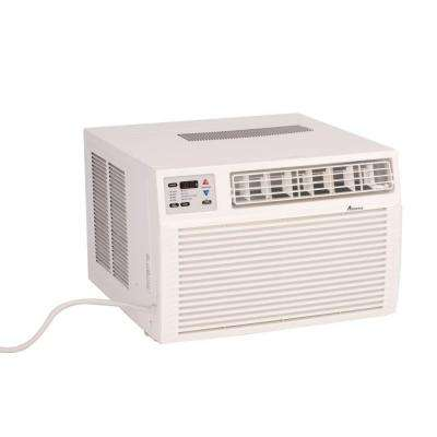 11,600 BTU R-410A Window Heat Pump Air Conditioner with 3.5 kW Electric Heat and Remote
