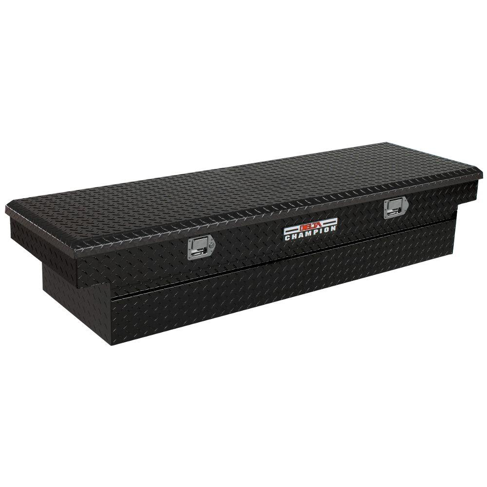 70 in. Aluminum Single Lid Full Size Crossover Tool Box with