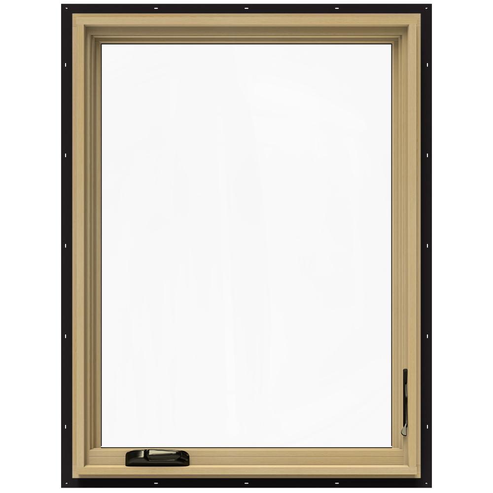 30.75 in. x 40.75 in. W-2500 Right-Hand Casement Wood Window