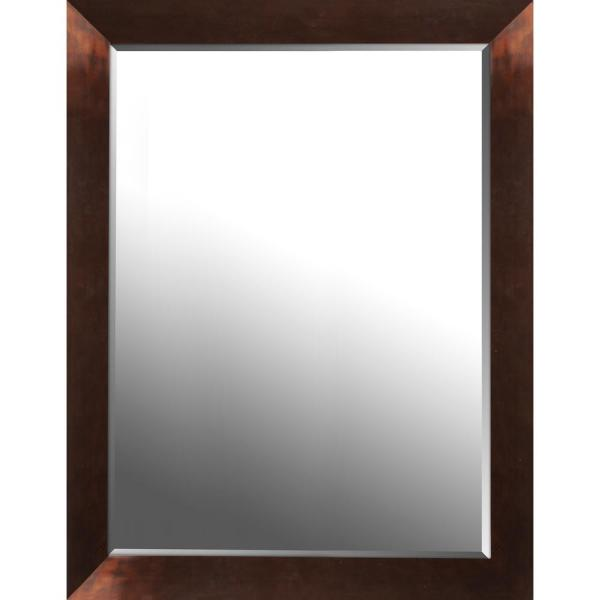 Mirrorize Canada 26 50 In X 34 50 In X 0 75 In Copper Gloss Beveled Decorative Wall Mirror Imm751bonl The Home Depot