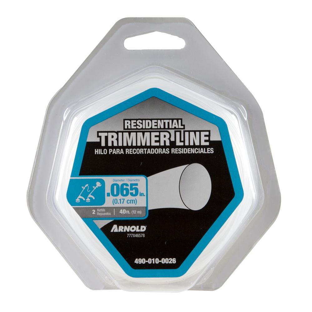 40 ft. Residential Grade 0.065 in. Trimmer Line