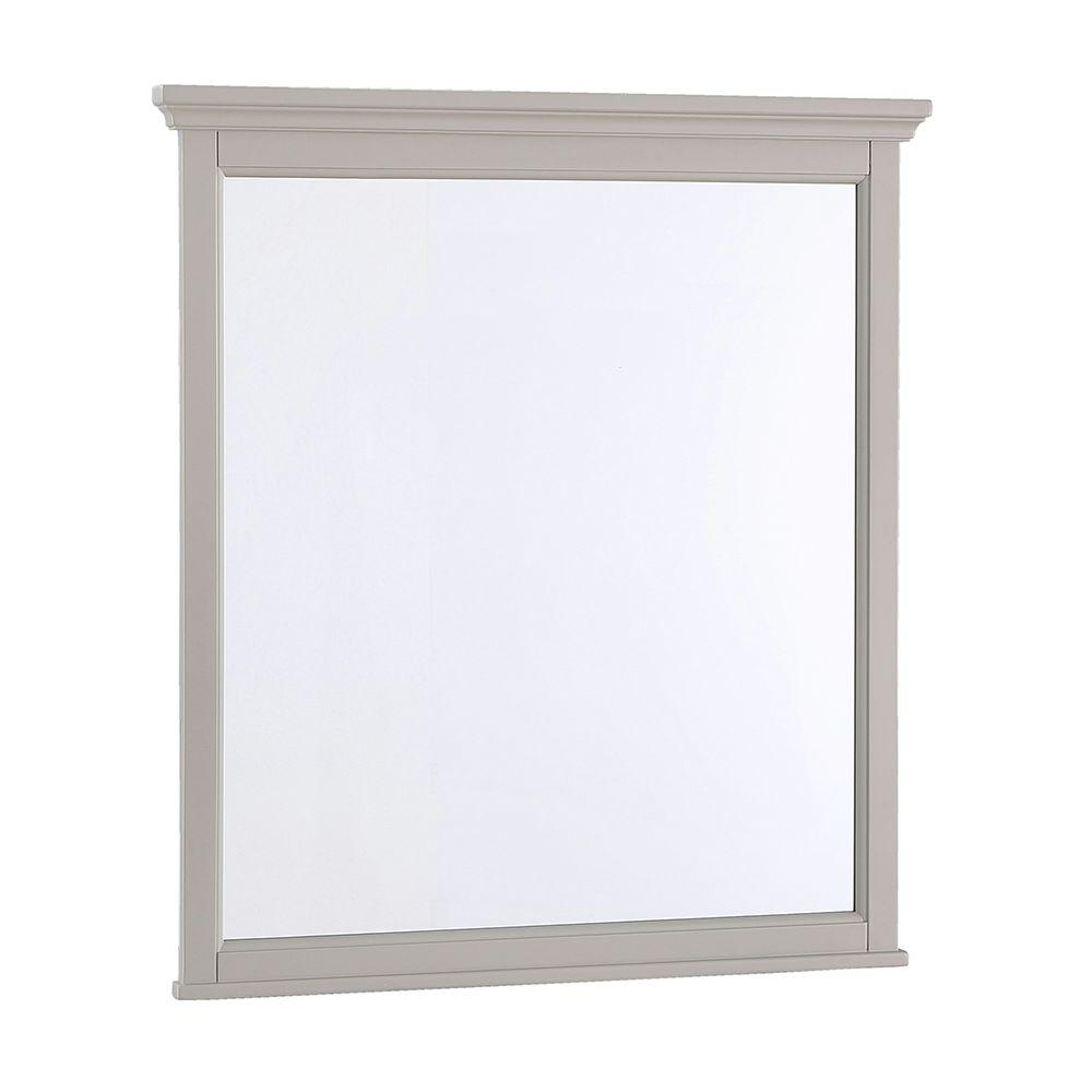 Ashburn 28 in. W x 31 in. L Wall Mirror in