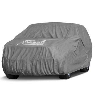Spun-Bond PolyPro 85 GSM 159 in. x 60 in. x 57 in. Superior Gray Full Suv and Truck Cover