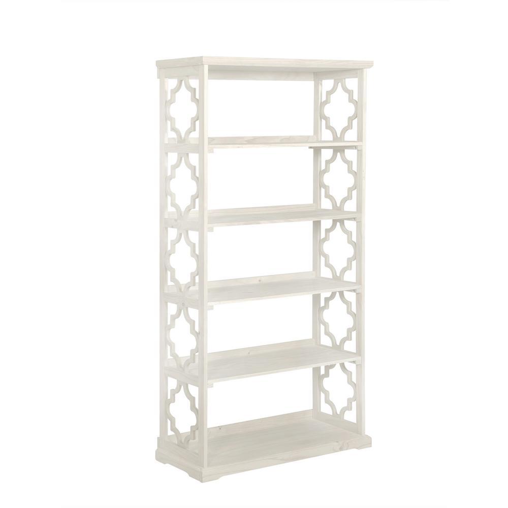 Carson White Bookcase